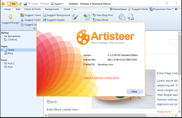 Artisteer 4.3 Crack & Keygen Free Full Download {Latest} 2021