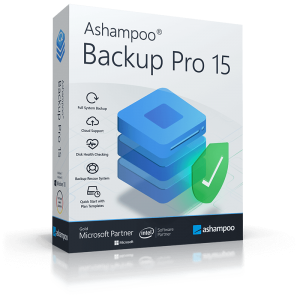 Ashampoo Backup Pro 15.03.2 + Crack Free Latest Version Download 2021