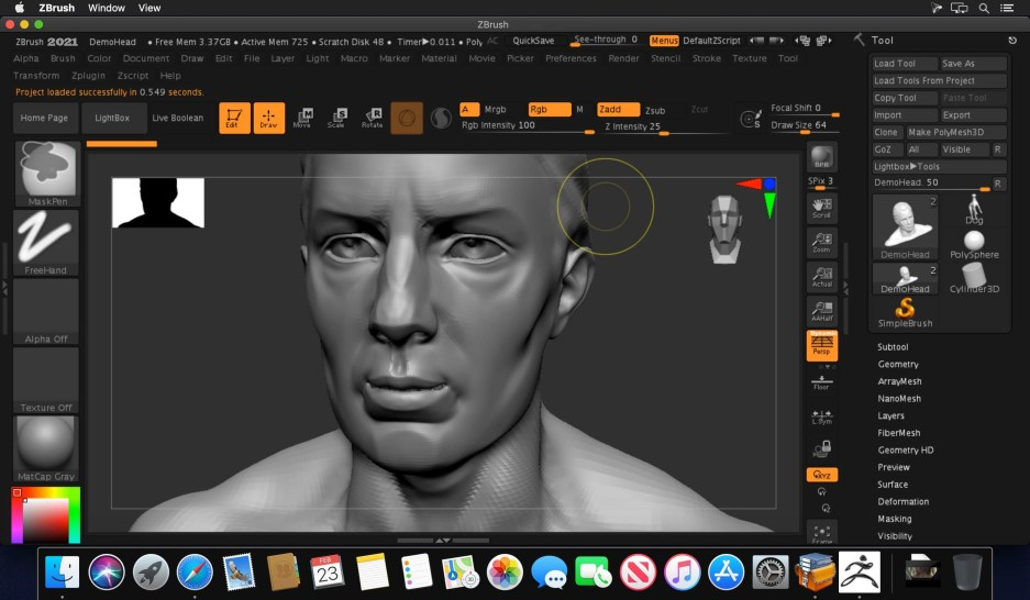 Pixologic ZBrush 2021.6.3 Crack + Torrent Full Free Download Latest